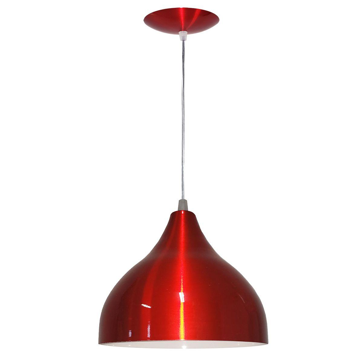 Luminária Decorativa Ártemis Preto/Cobre com Pendente