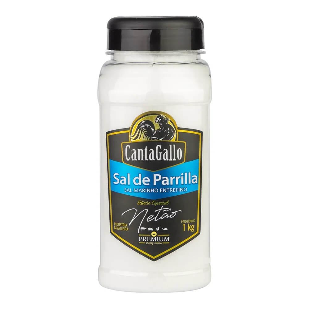 Sal de Parrilla Entrefino Edição Especial Netão 1000g CantaGallo
