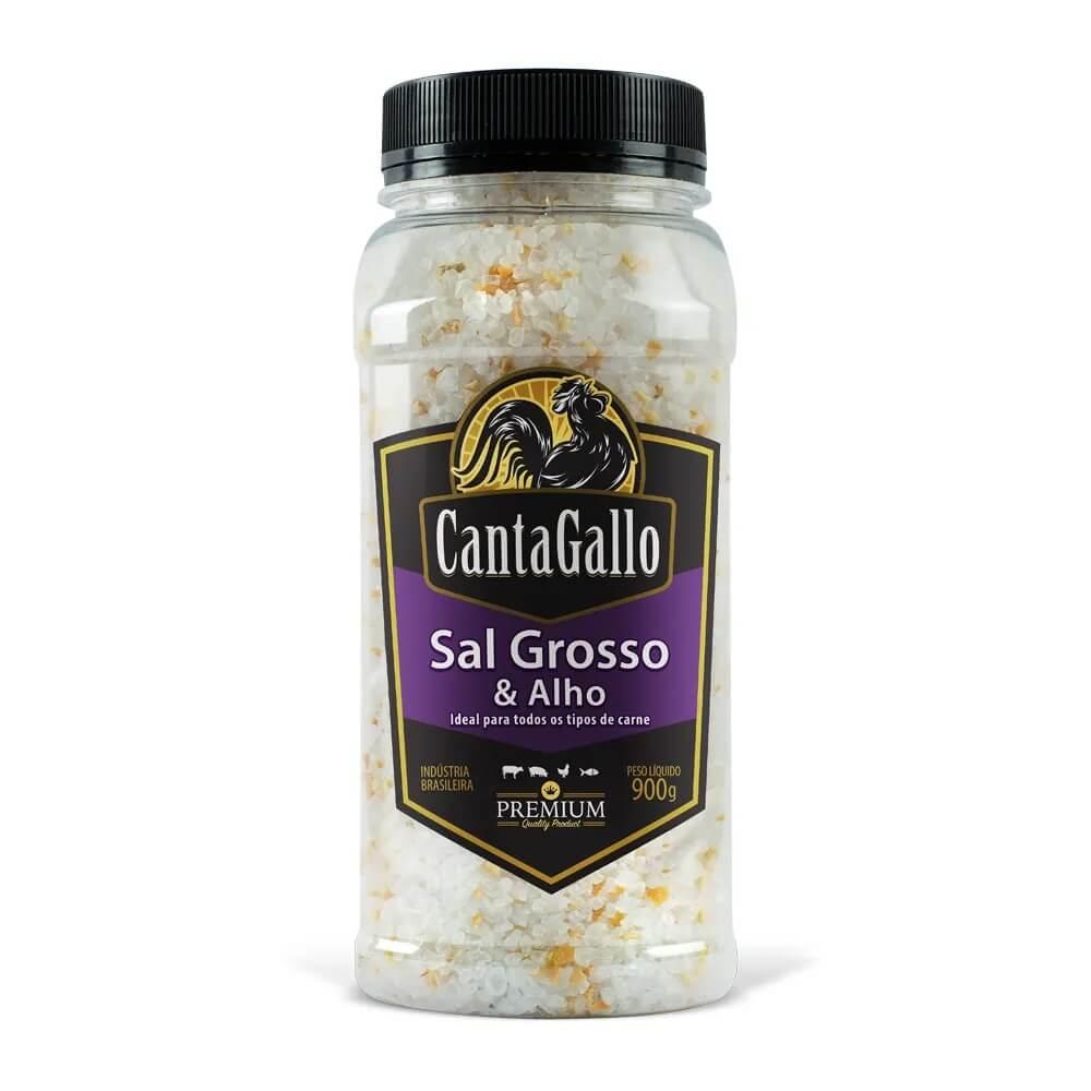 Sal Grosso & Alho 900g CantaGallo