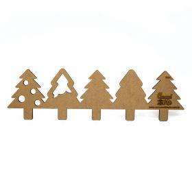 Régua para Barrado Mdf Arvore de Natal