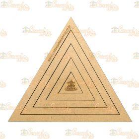 Gabarito Triâgulo MDF G015
