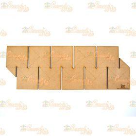 Régua para Barrado Duplo Quadrado M
