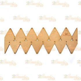 Régua para Barrado Duplo Triangulo M