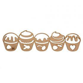 Régua para Barrado Mdf Cupcake