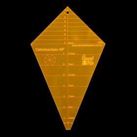 Régua para Patchwork Caleidoscópio 45°