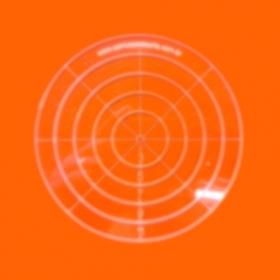 Régua para Patchwork Redonda 12cm - Cristal