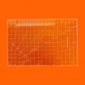 Régua Patchwork 06x09 Polegada - Cristal