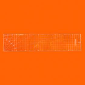 Régua Patchwork 4x18 Polegadas  - Cristal
