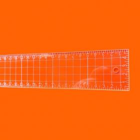 Régua Patchwork 5x30cm - Cristal