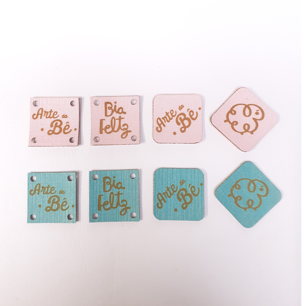 Etiqueta Candy Personalizada 2 X 2 CM - 50unid - Quadrado
