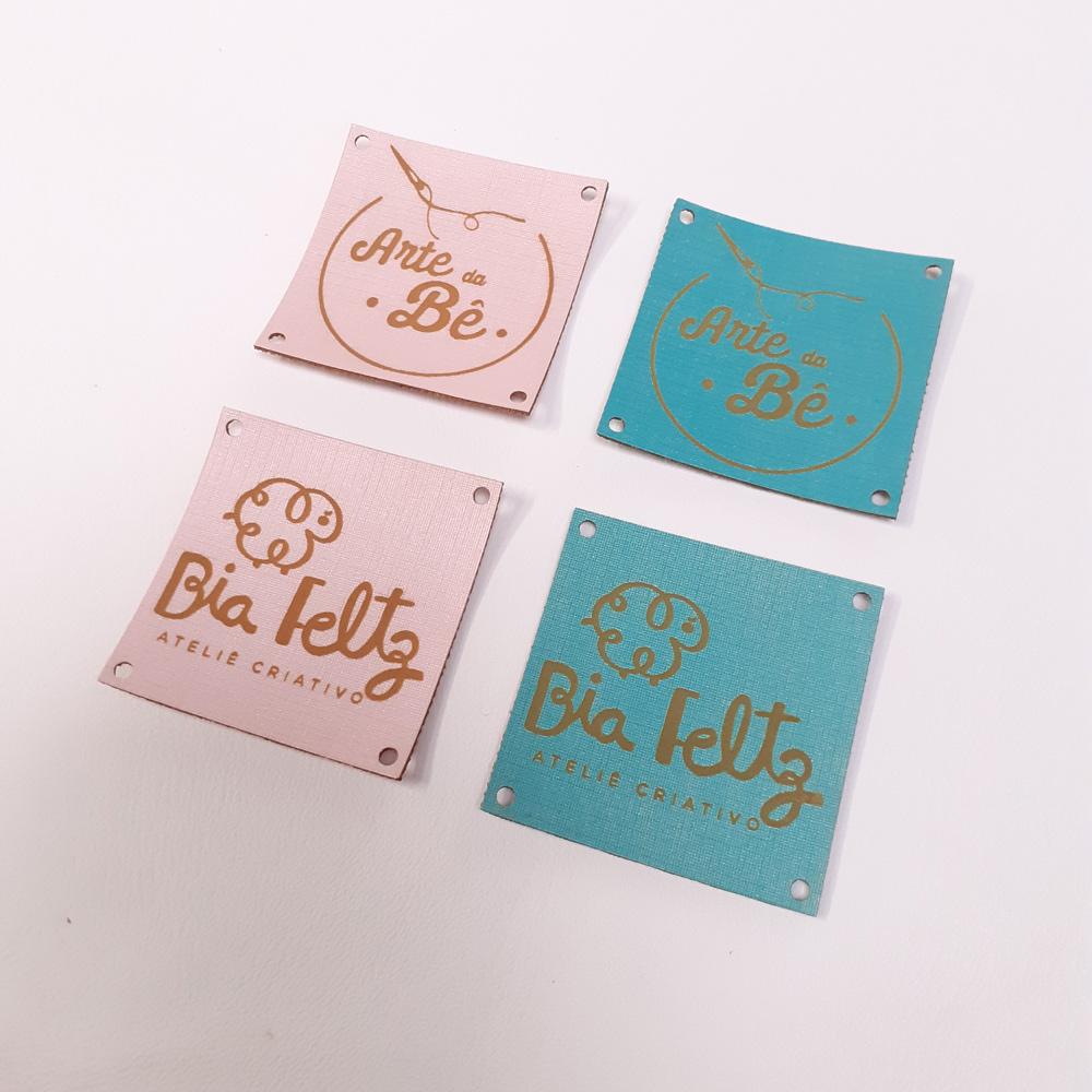 Etiqueta Candy Personalizada 4 X 4 CM - 50unid - Quadrado