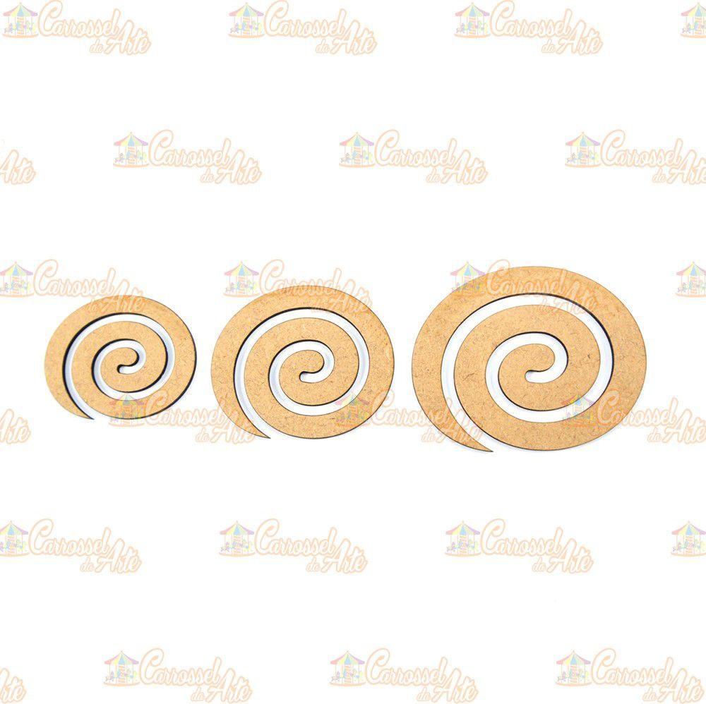 Gabarito 3 Espiral MDF G022