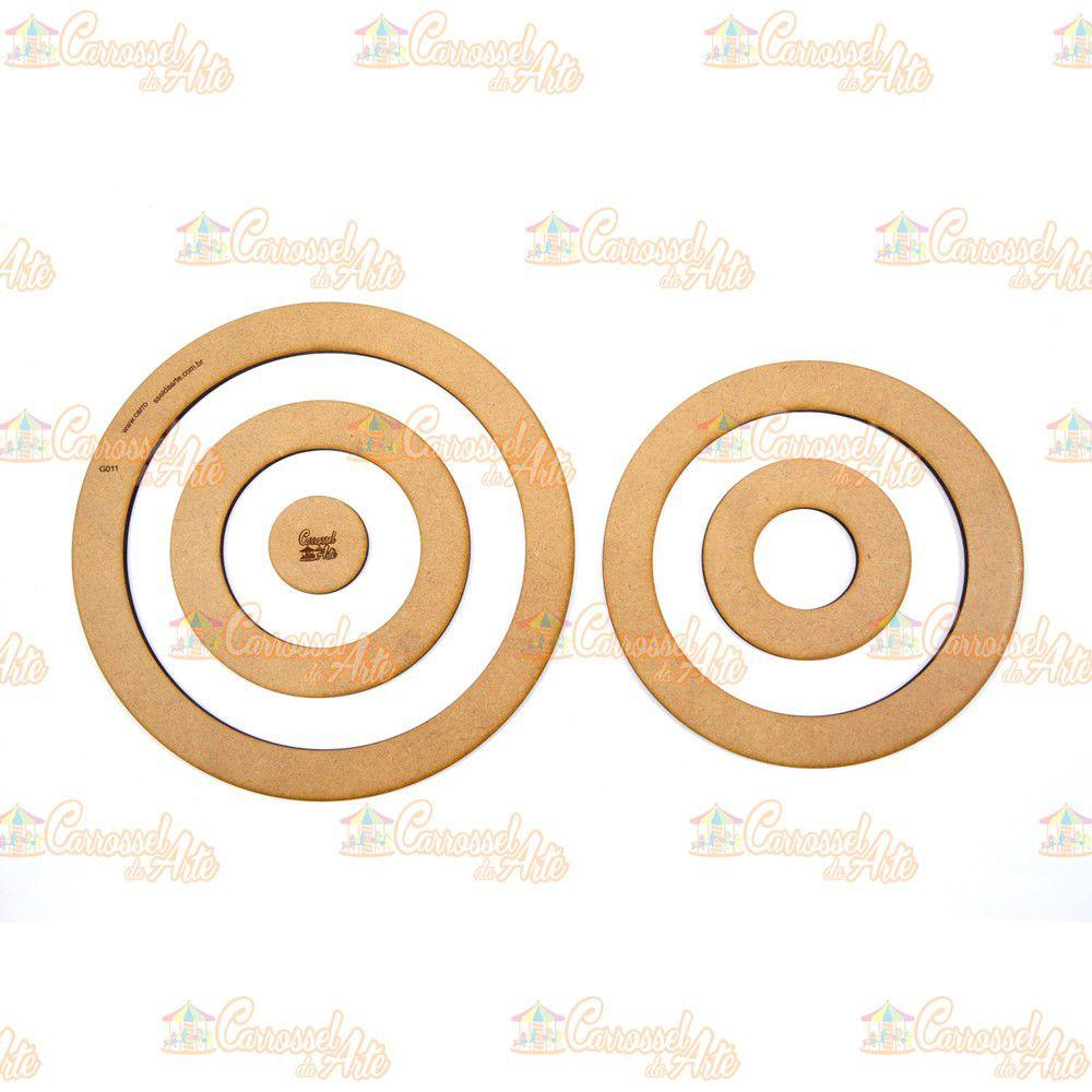 Gabarito Circulo MDF G011