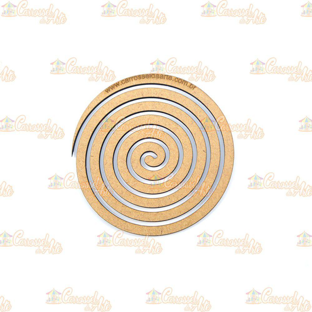 Gabarito Espiral Pequeno MDF G018