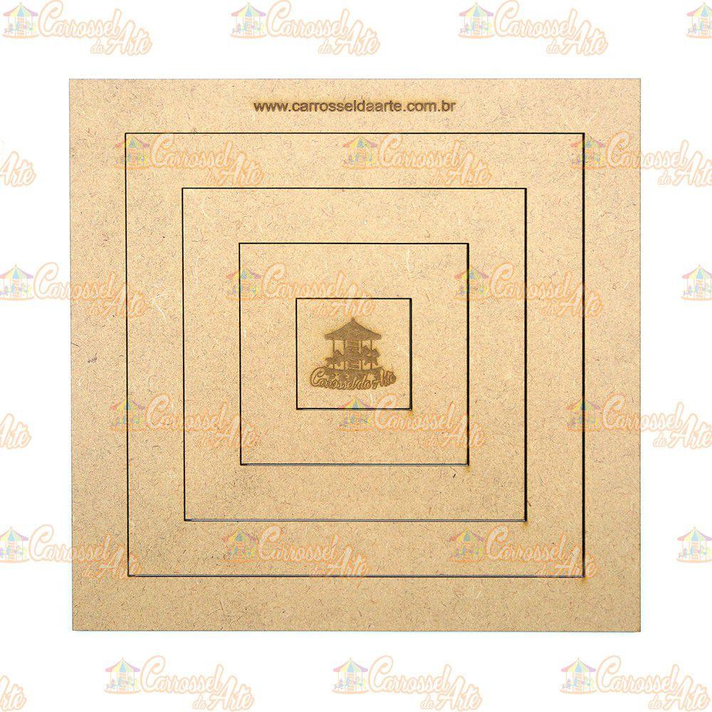 Gabarito Quadrado MDF G013