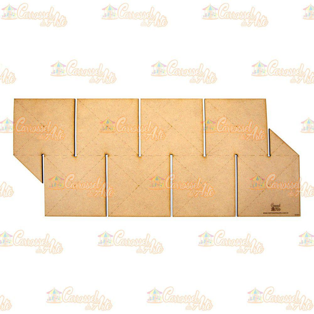 Régua para Barrado Duplo Quadrado G