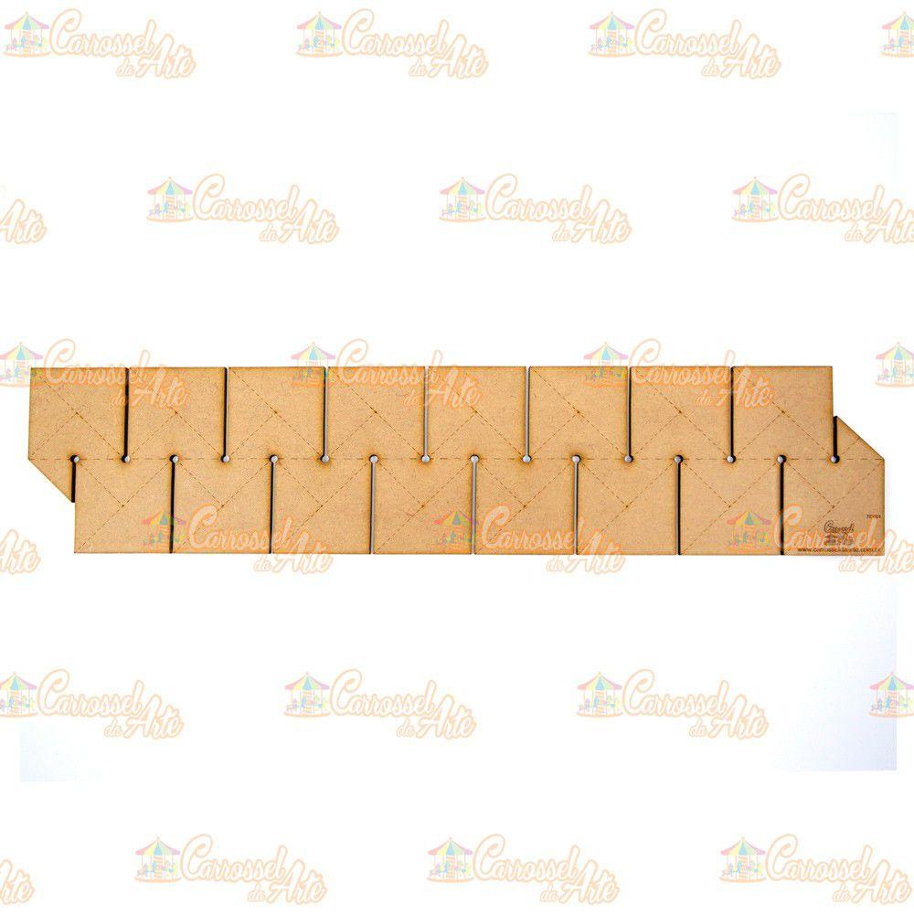 Régua para Barrado Duplo Quadrado P