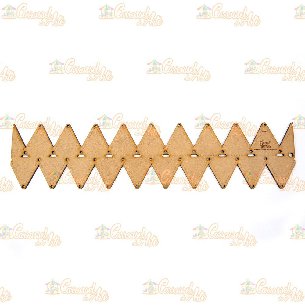 Régua para Barrado Duplo Triangulo P