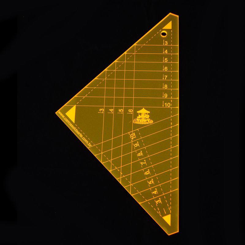 Régua para Patchwork Triangulos 2