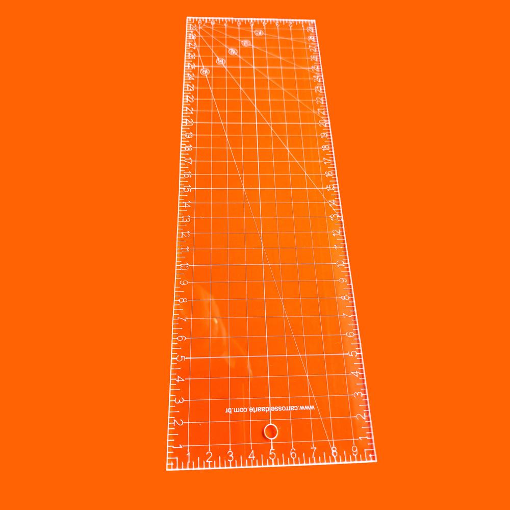 Régua Patchwork 10x30 Cristal