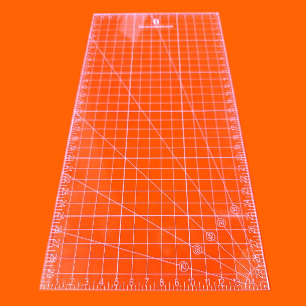 Régua Patchwork 15x30cm - Cristal