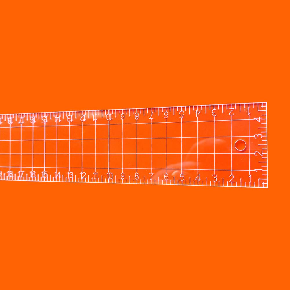 Régua Patchwork 5x45cm - Cristal