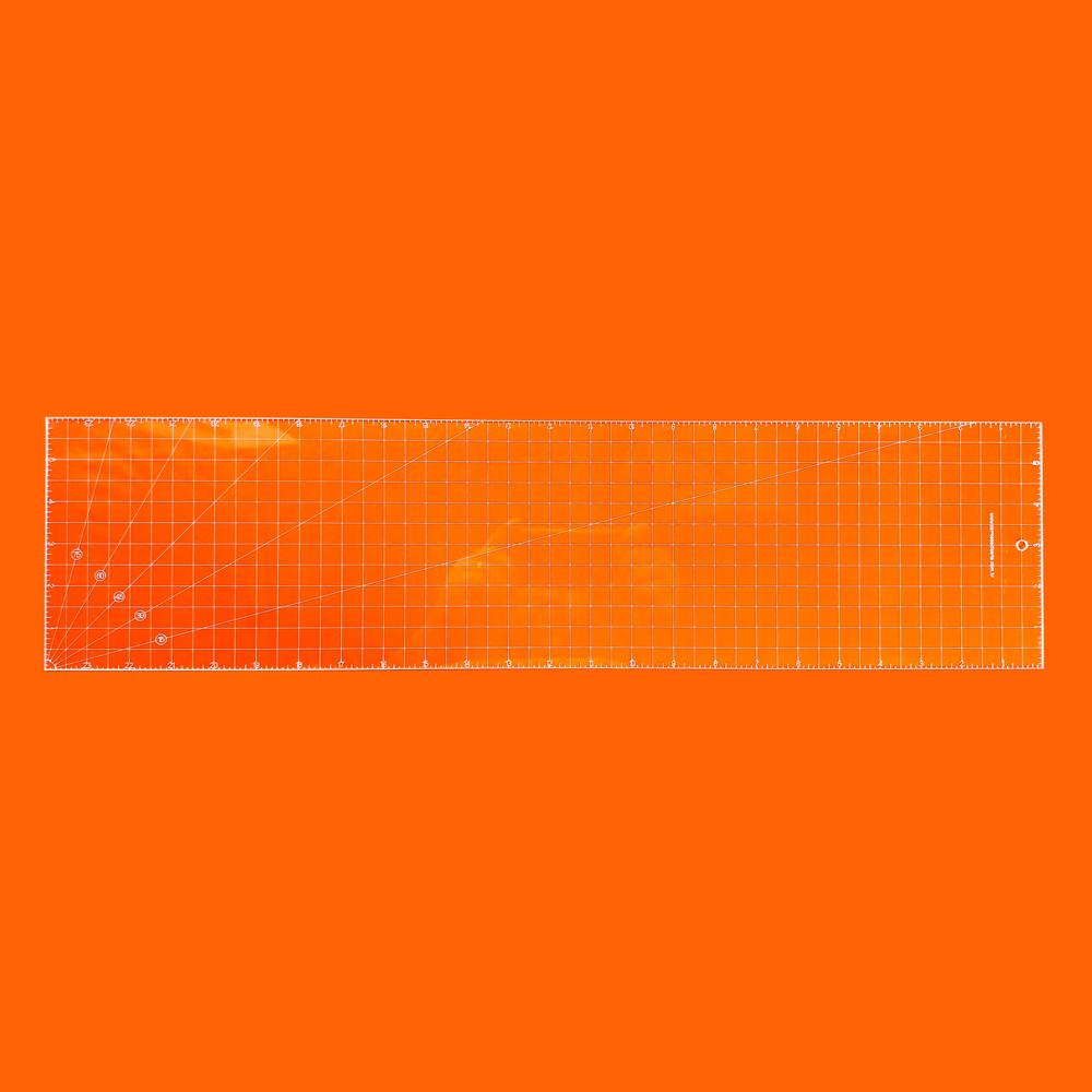Régua Patchwork 6x24 Polegadas - Cristal
