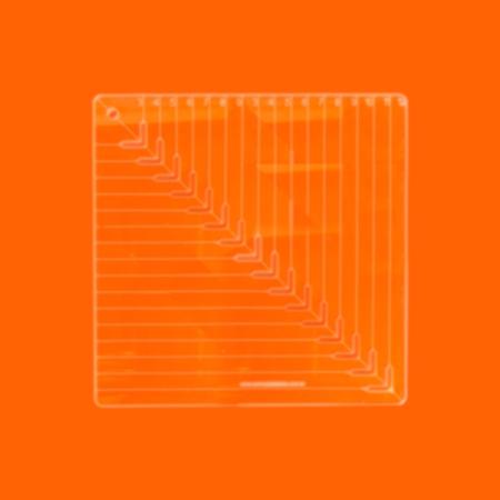 Régua Patchwork Caixinha De Leite 20 Cm - Cristal