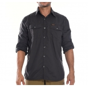 Camisa técnica Hard Safari UV50+ Chumbo Hard Adventure
