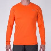 Camiseta M. Longa Hard Brisa UV50+ Masculina - Laranja Luna