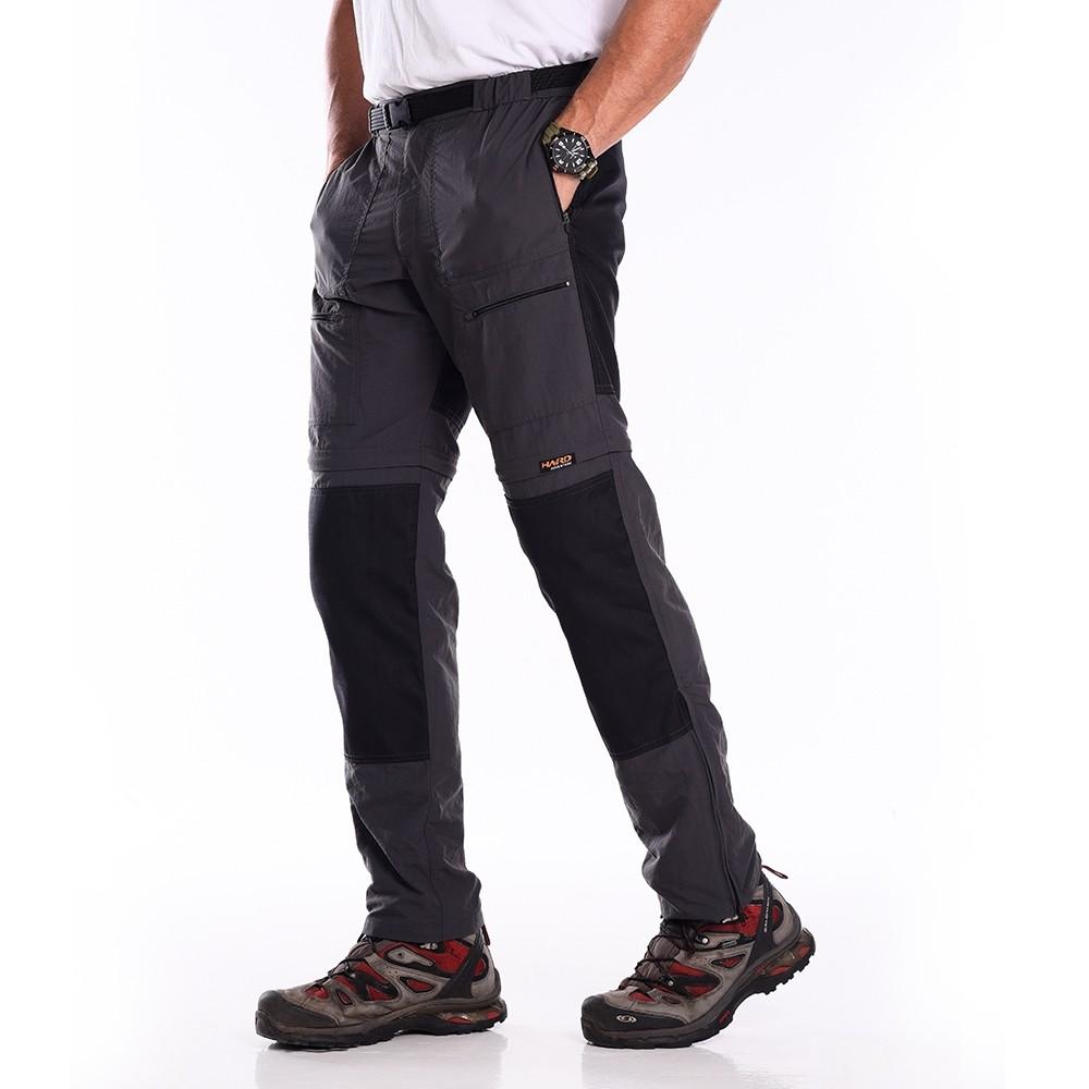 Calça-Bermuda Masculina Hard Pro Mountain Cordura - Chumbo - Coleção 2021