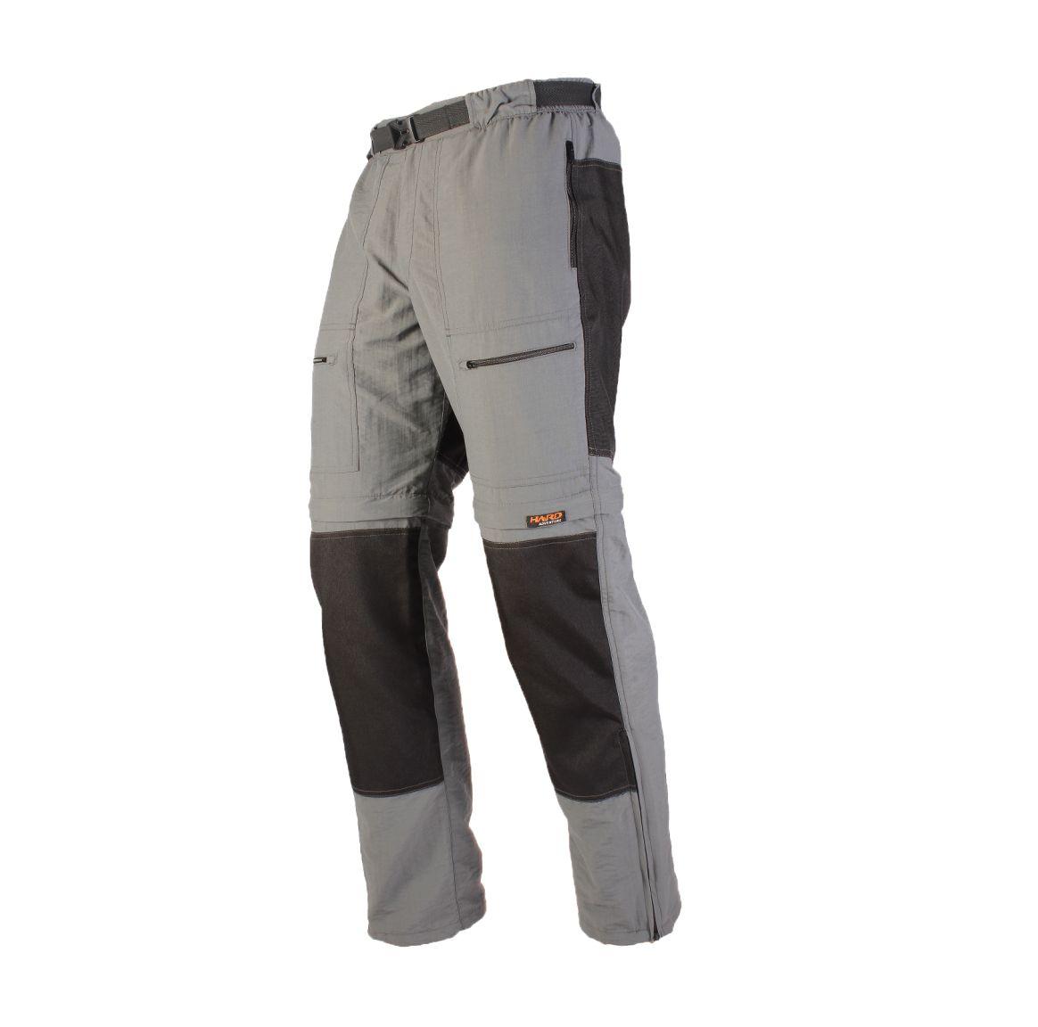 Calça-Bermuda Masculina reforçada com Cordura  Hard Pro Mountain - Cinza Claro