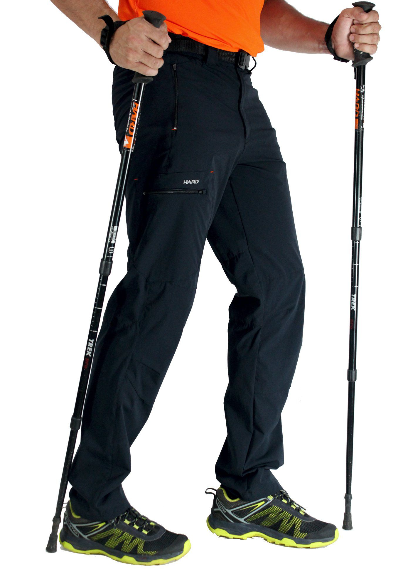Calça Masculina Hard Elastic Summit – Coleção Trekking and Mountain 2020  - Preta