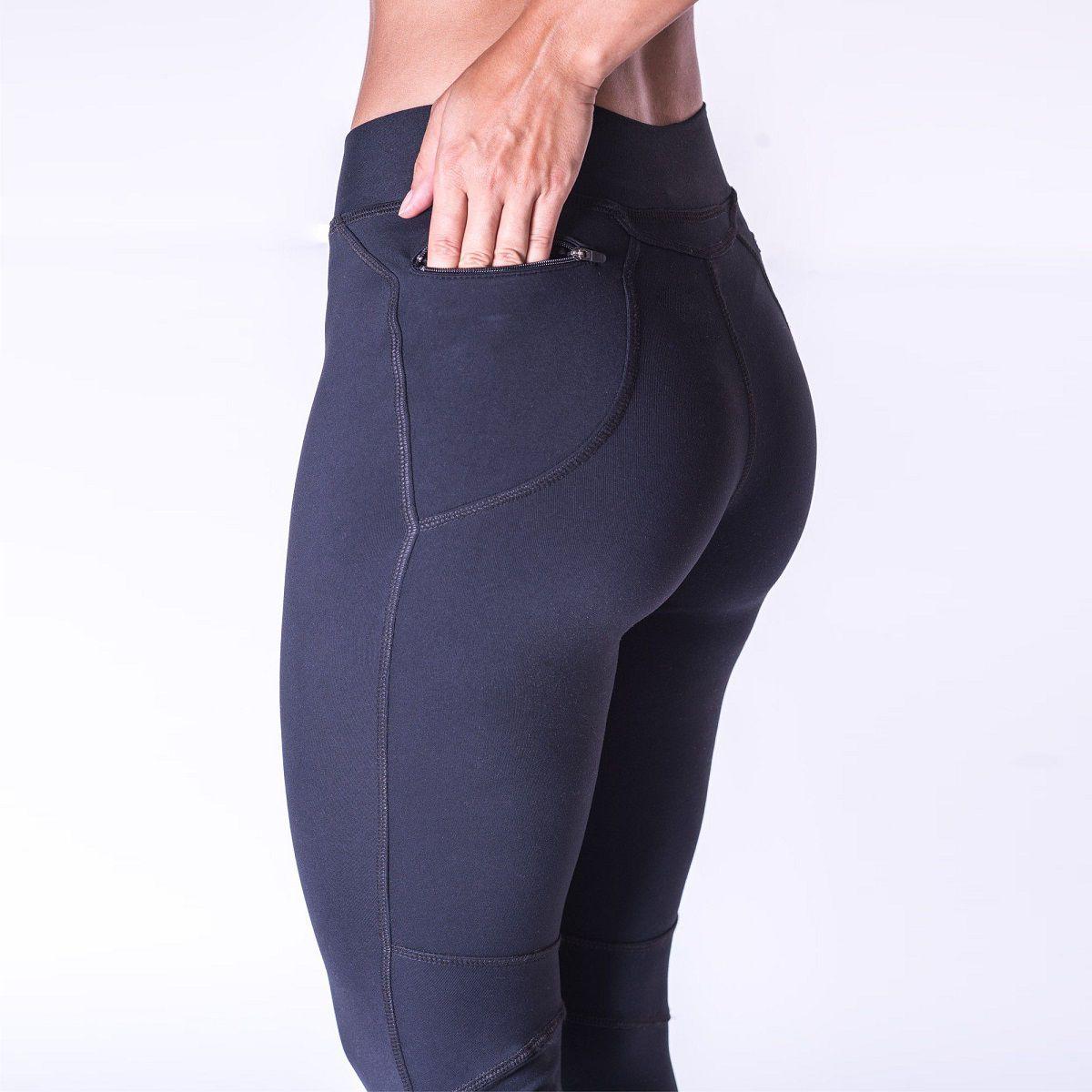 Calça Legging Feminina Hard Black Trail - Preta