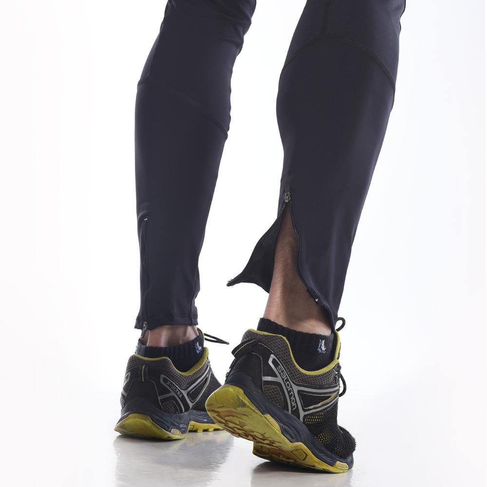 Calça Legging Masculina  Hard Black Trail  Preta Trekking and Mountain 2021
