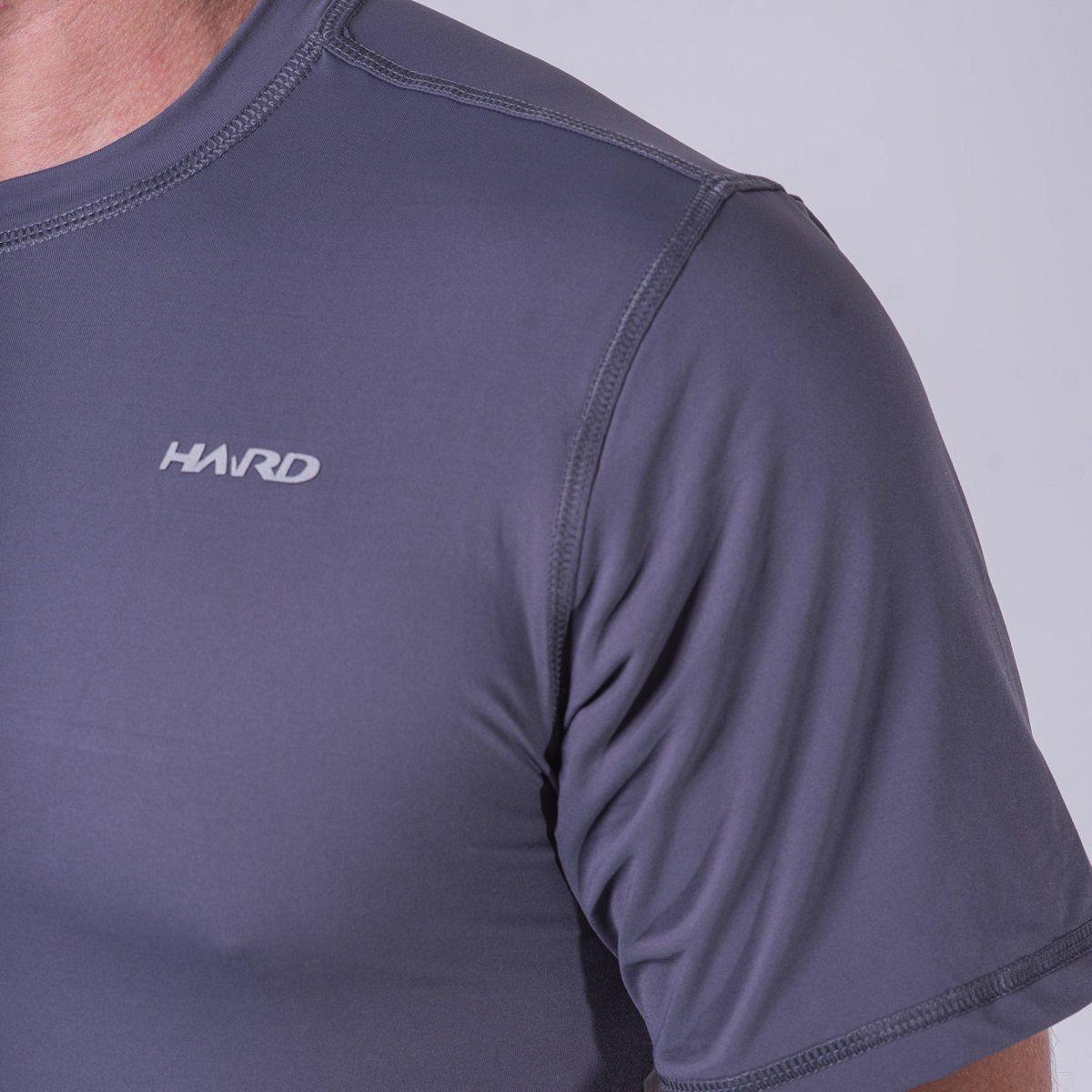 Camiseta M. Curta Hard Brisa UV50+ Masculina  Cinza
