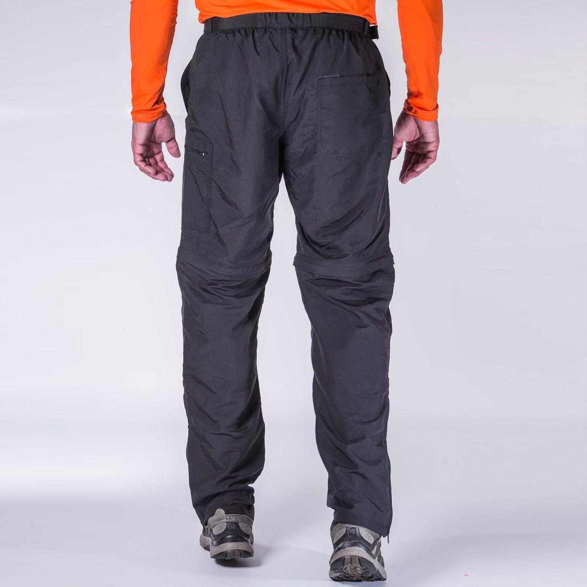 Calça-Bermuda Masculina Hard Bio Trekking UV50+ - Preta
