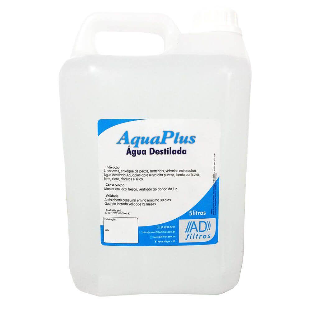 Água Destilada 5 Litros - Aqua Plus