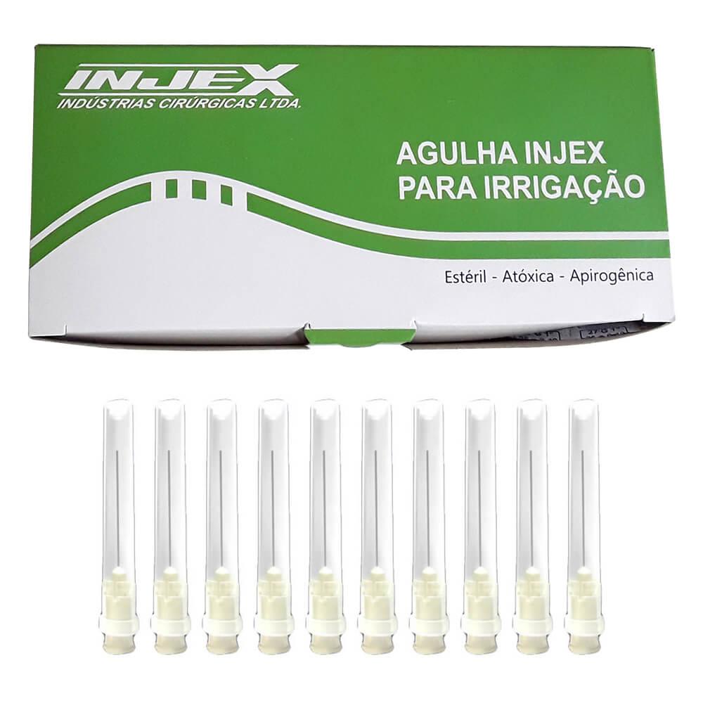 Agulha Descartável Estéril para Irrigação 25x4 - Injex