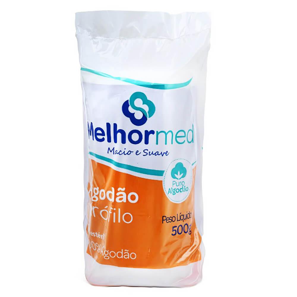 Algodão Hidrófilo em Rolo 500g - Melhormed