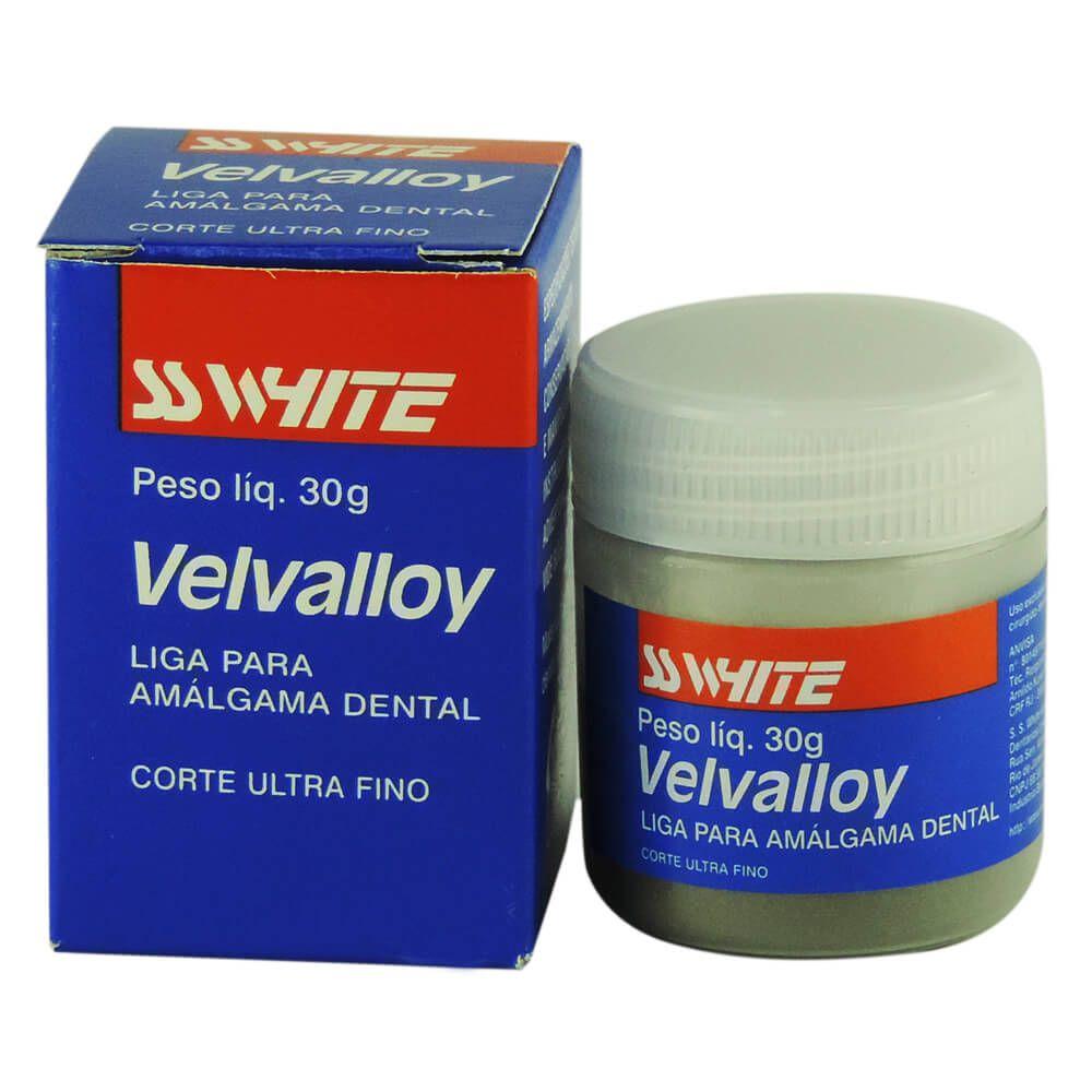 Amálgama Velvalloy - SS White