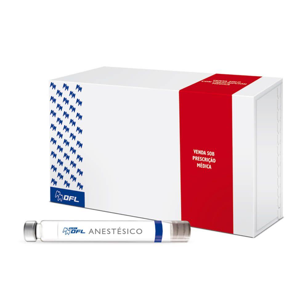Anestésico Alphacaine 100 Lidocaína 2% - Nova DFL
