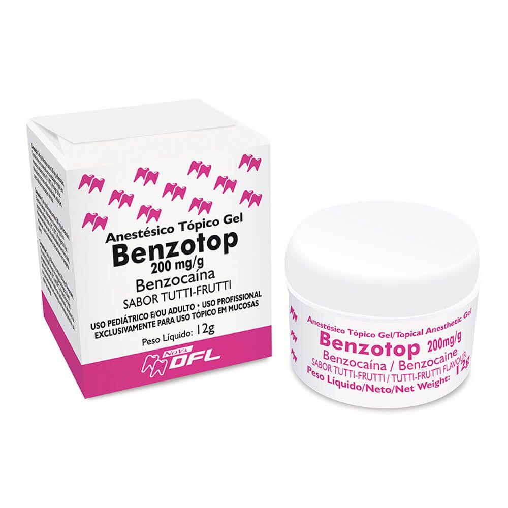 Anestésico Tópico Benzotop - Nova DFL