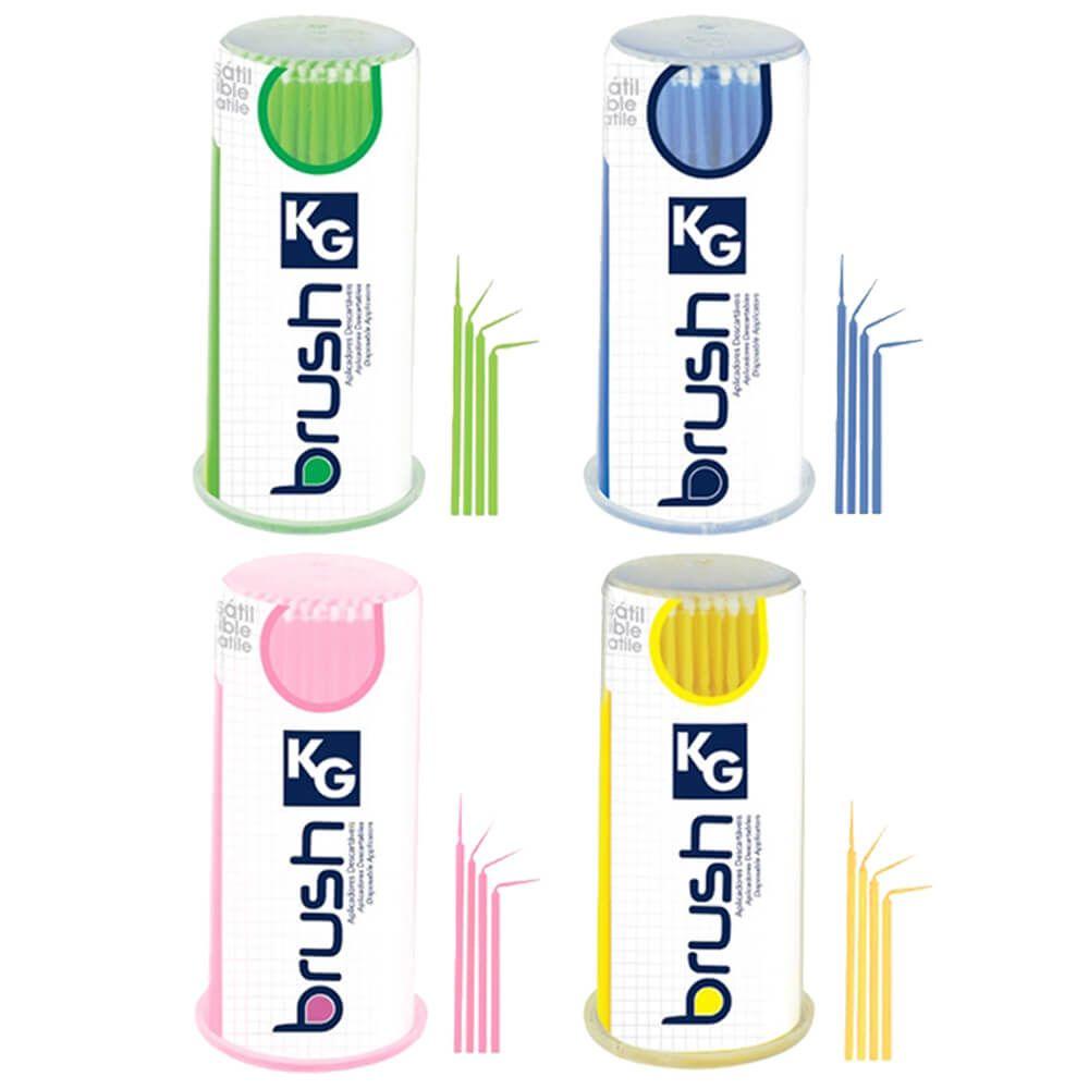 Aplicadores Descartáveis KG Brush - KG Sorensen