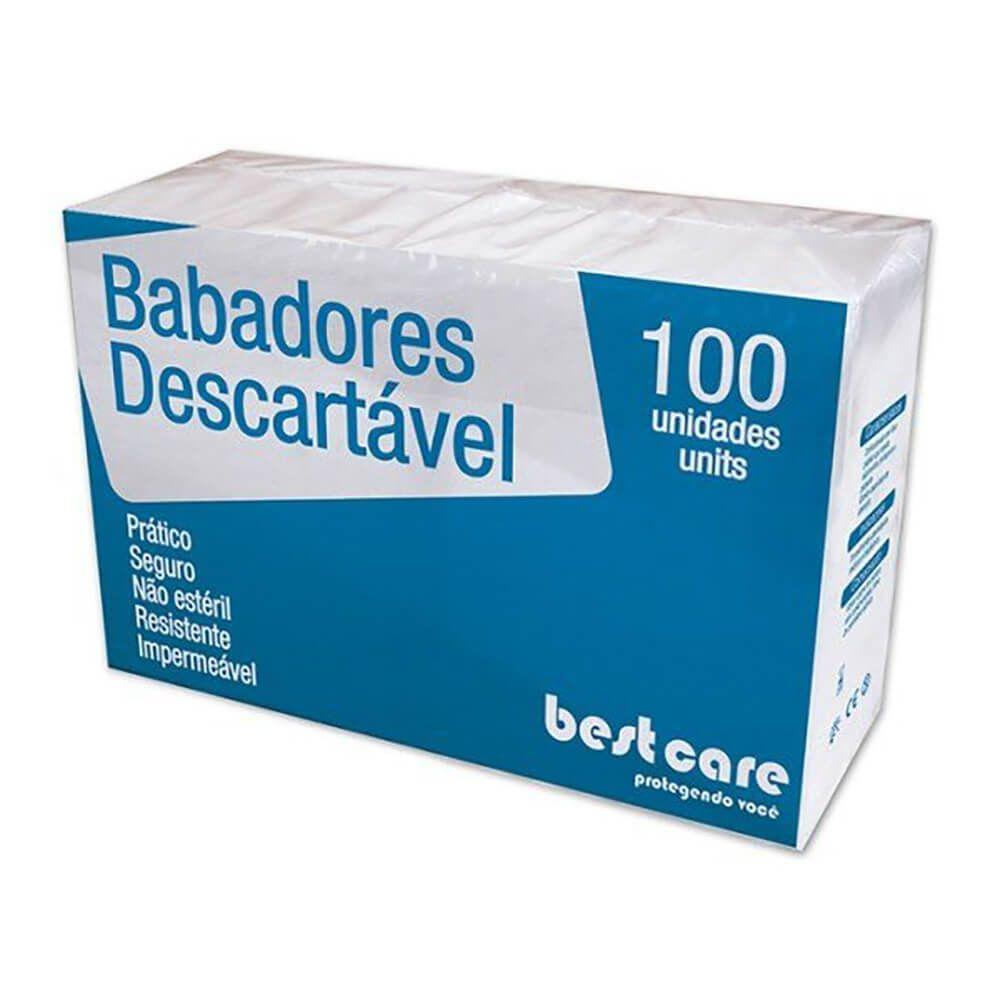 Babador Descartável Impermeável Slim Best Care - Biodinâmica