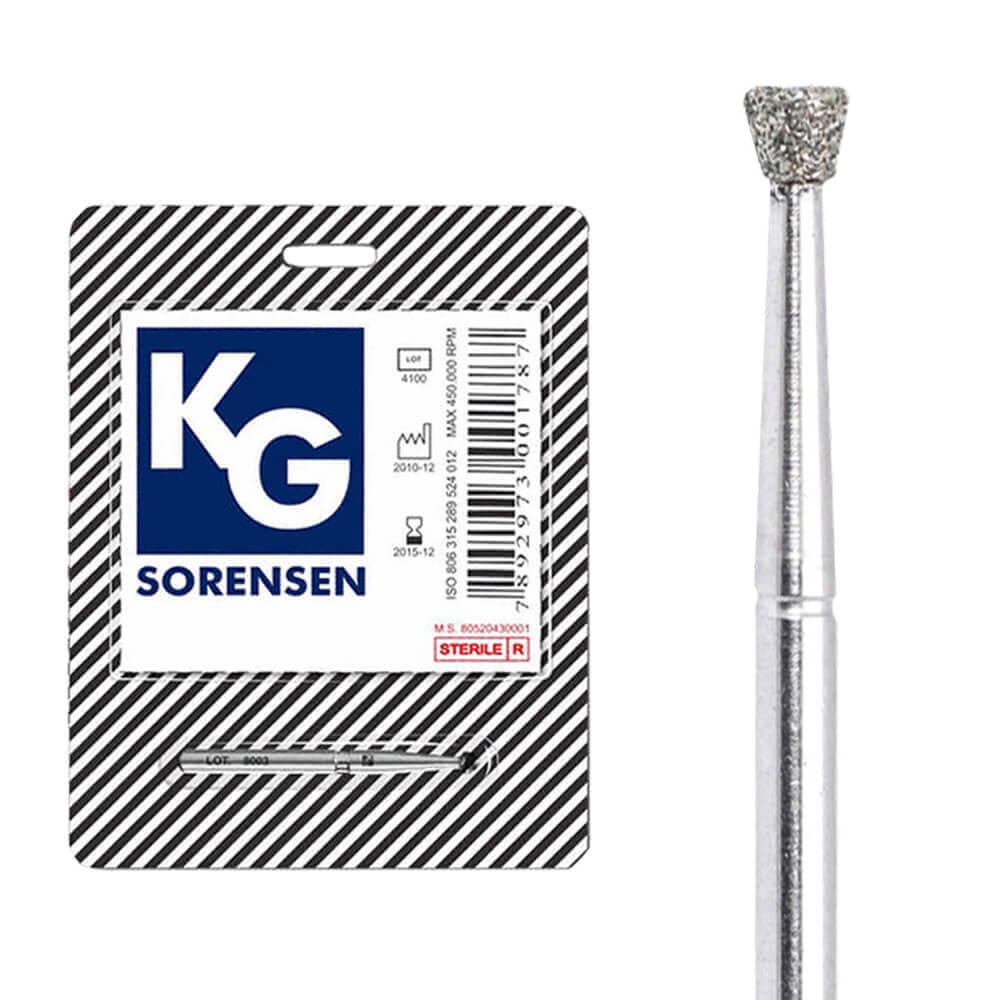 Broca Diamantada FG Cone Invertido - KG Sorensen
