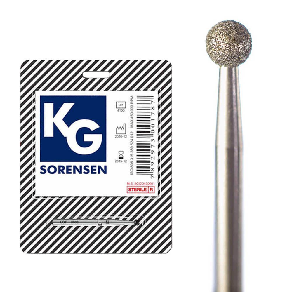Broca Diamantada FG Esférica - KG Sorensen