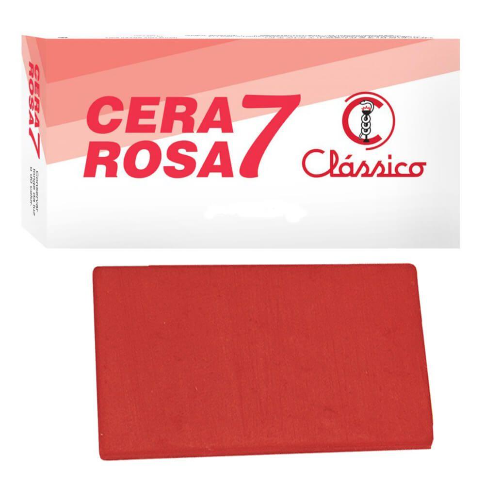 Cera 7 Rosa em Lâminas - Clássico