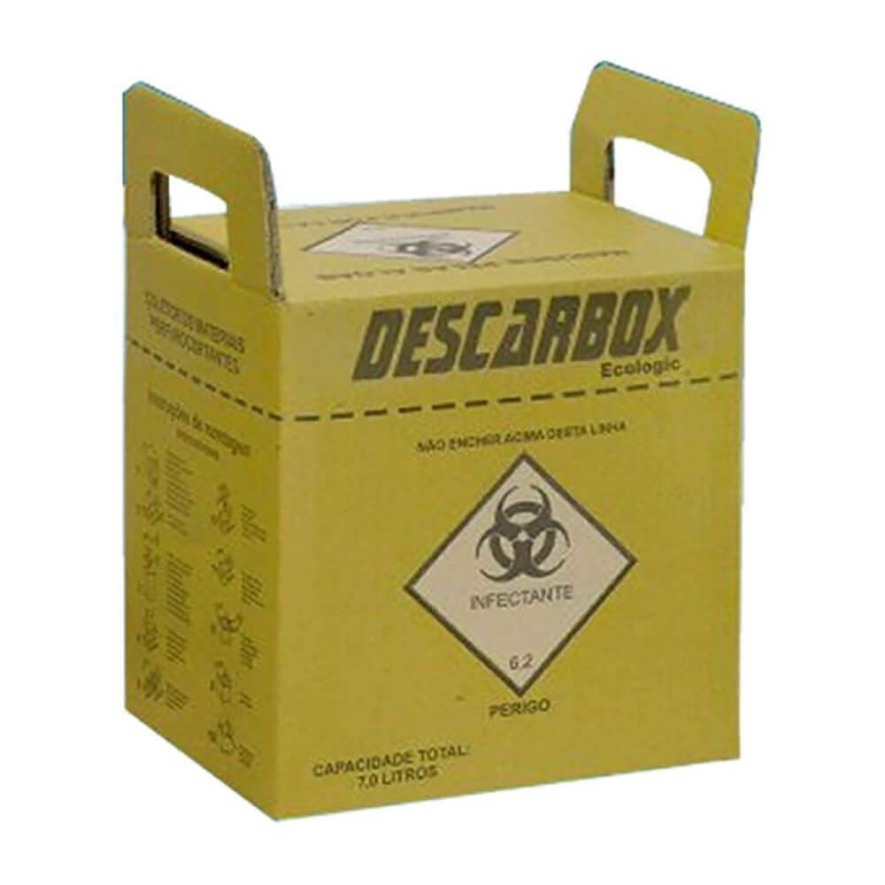 Coletor de Perfuro-Cortante - Descarbox