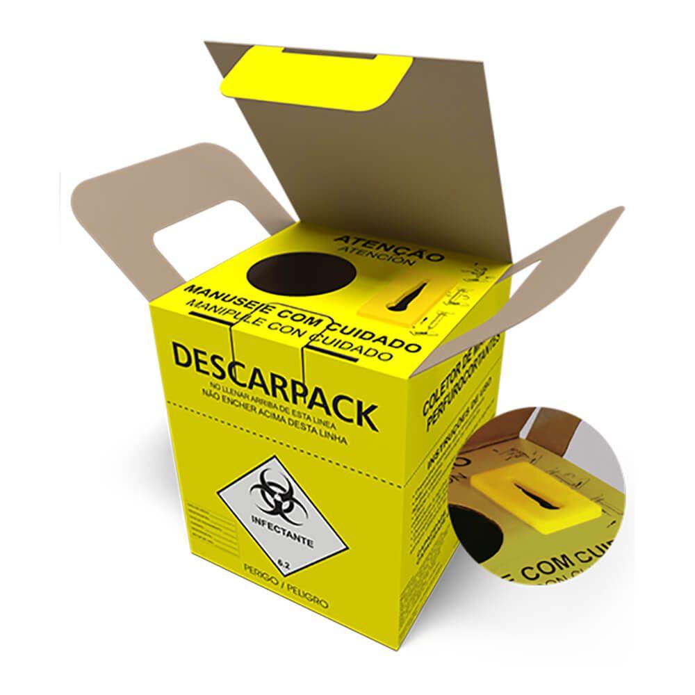 Coletor de Perfuro-Cortante - Descarpack